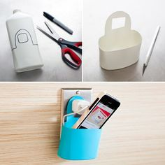 phone accessories DIY Lotion Bottle Phone Holder - 20 DIY Cell Phone Accessories To Make At Home Phone Charger Holder, Cell Phone Holder, Diy Phone Case, Iphone Cases, Ipod Holder, Phone Gadgets, Phone Hacks, Diy Videos, Cell Phone Accessories