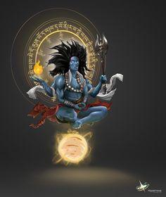 Shiva Tandav, Rudra Shiva, Shiva Statue, Shiva Art, Krishna Art, Hindu Art, Hindus, Angry Lord Shiva, Shiva Tattoo