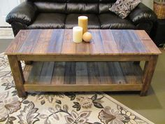 TV Stand / Media Console / Reclaimed Wood. $595.00, via Etsy.