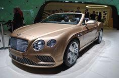 Bentley Continental GT : légères retouches pour le coupé de luxe : Salon de Genève 2015 : les voitures de luxe et de sport à l'honneur - Linternaute