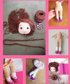 FREE TARİF TOKALI KIZ Crochet Dolls Free Patterns, Crochet Doll Pattern, Baby Knitting Patterns, Doll Patterns, Crochet For Kids, Crochet Baby, Free Crochet, Booties Crochet, Amigurumi Doll