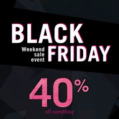Let the madness begin! 40% OFF entire site! Online only at Annabelle.com #blackfriday #makeup #crueltyfree #sale #blackfridayweekend #christmas #giftidea #thanksgivingsale Black Friday Makeup, Weekend Events, Thanksgiving Sale, Begin, Cruelty Free, Madness, Let It Be, Christmas, Navidad