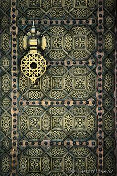 Morocco door #3 (metal door in Rabat) by © Barrett Donovan, via Flickr.com