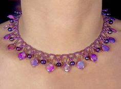 Free pattern for necklace Violana | Beads Magic | Bloglovin'