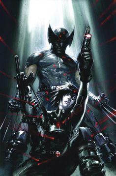 Wolverine & Domino by Gabriele Dell'Otto
