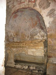 The Church of St Nicholas is said to contain his tomb was built in AD 520 on the foundations of the older Christian church where Saint Nicholas served as bishop. Many of the tombs are damaged.