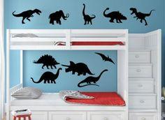 Dinosaur Bundle Wall Art Sticker Personalised