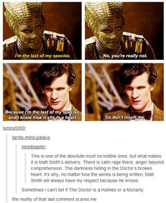 Matt Smith - Doctor Who - Holmes or Moriarty? Doctor Who, 11th Doctor, Doctor Strange, Tardis, Geeks, Crossover, Fandoms, Don't Blink, Torchwood