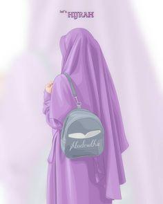 Let's Hijrah - Jutaan Share Anime Muslim, Muslim Hijab, Hijabi Girl, Girl Hijab, Best Facebook Profile Picture, Reference Drawing, Hijab Drawing, Islamic Cartoon, Islam Women