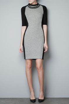 This is why I shop for workwear at #Zara.  #fashion #workwear #slimming #dresses #style #trends #holiday #chic