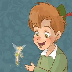 tinker bell and peter pan y