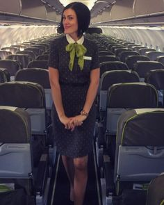 "@alekseeva_konfeta on Instagram: ""вжух-вжух и Валенсия будет покорена🤗"" Flight Girls, Flight Attendant, High Neck Dress, Dresses, Fashion, Turtleneck Dress, Vestidos, Moda, Fashion Styles"