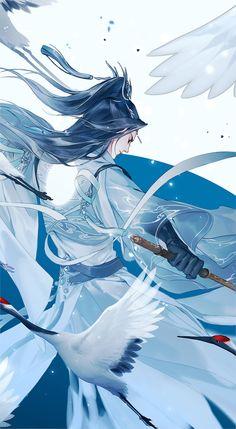 紫霞功·北冥剑气_还赋__插画师作品_涂鸦王国gracg.com Anime Artwork, Fantasy Artwork, Magic Anime, Anime Black Hair, Chinese Artwork, Art Icon, Fantasy Illustration, Japan Art, Anime Fantasy
