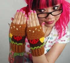 @Twinkie Chan and her wonderful #crochet work were regularly featured on my blog last year