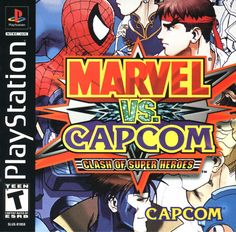 Marvel vs Capcom PS1 (Re-zerado)