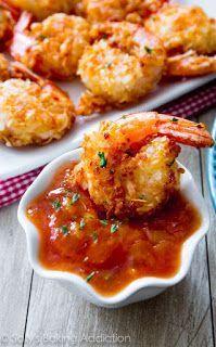 "Low Carb Air-Fryer Recipes: Low- Carb Coconut ""fried"" Shrimp (copycat restaura..."