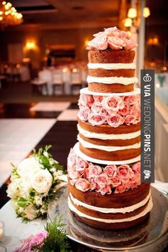 So good - Wedding Cake Trends 2015 - Now Trending: Naked Wedding Cakes | CHECK OUT SOME COOL SHOTS OF NEW Wedding Cake Trends 2015 AT WEDDINGPINS.NET | #weddingcaketrends2015 #weddingcaketrends #weddingcakes #weddingtrends #weddings #weddinginvitations #vows #tradition #nontraditional #events #forweddings #iloveweddings #romance #beauty #planners #fashion #weddingphotos #weddingpictures