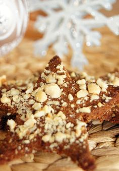Suikervrije en Glutenvrije Kerstkoekjes Gluten Free Recipes, Free Food, Christmas Time, Cereal, Foodies, Paleo, Breakfast, Desserts, Cooking Ideas