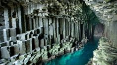 Reminiscent of Giant's Causeway in Northern Ireland, and just across the sea in Scotland's Inner Hebrides, Fingal's Cave on the island of Staffa boasts the same hexagonal basalt columns, but houses them in a cathedral-like sea cave with shimmering turquoise water. Not convinced Fingal's Cave is superior? German composer Mendelssohn wrote an overture inspired by the acoustics he heard on his visit.