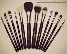 Tipos de brochas y pinceles de maquillaje