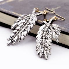Charming Dangle Earrings With Rhinestone $20.98