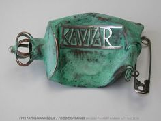 kunsthandverk, en presentasjon av Konrad Mehus, art and craft Ceramic Jewelry, Metal Jewelry, Jewelry Box, Jewelery, Objects, Arts And Crafts, Enamel, Bling, Ceramics
