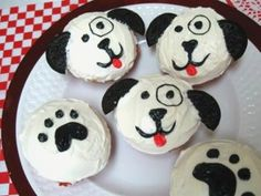 Image result for easy puppy dog cupcakes