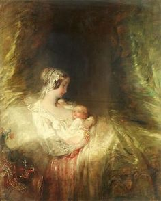 Alfred Joseph Woolmer (British, Her Majesty's first born Queen Victoria Children, Queen Victoria Family, Queen Victoria Prince Albert, Victoria Reign, Victoria And Albert, Victoria's Children, Romantic Paintings, Family Painting, Beauty In Art