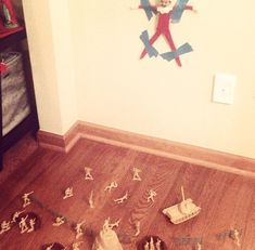 The time when he got on the wrong side of the wrong people. | 22 Times Elf On The Shelf Went Way Too Far