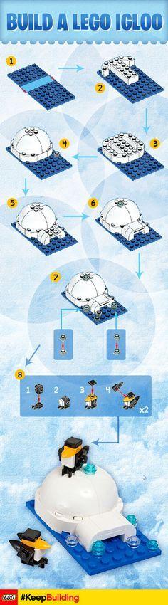 Risultati immagini per minecraft lego igloo