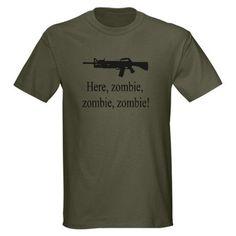 Here, zombie, zombie, zombie! Shirt