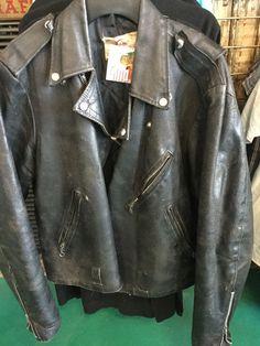 Mens Vintage Motorcycle Leather Jacket