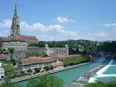 The capital city of Berne, Switzerland.  Ahhh.  Can't wait to go to this stunning country!