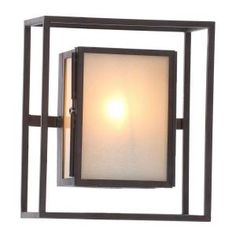 World Imports Wall-Mount Outdoor Aged Bronze Sconce WI906655 at The Home Depot - Mobile