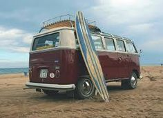 Resultado de imagen de furgoneta hippie volkswagen