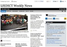 Aug 16 - IJEDICT Weekly News is out