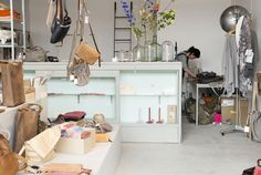 leather bags, jewelry and accessories, focusing on crafts and beautiful pure materials – Rotterdam - olga korstanje Rotterdam Shopping, Rotterdam Netherlands, Tourist Information, Restaurant, Pure Products, City, Bed, Interior, Inspiration