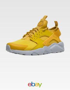 newest a39cd e74ef Nike Air Huarache Run Ultra Mineral Yellow Sneaker Yellow Sneakers, Women s  Sneakers, Sneakers Fashion