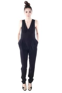 Shoptiques — Long Black Jumpsuit