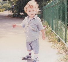 Jonathan as a toddler