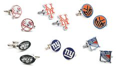 Maurice Badler Fine Jewelry of New York City is an exclusive salon where you can view a marvelous selection of novelty cufflinks including these. Perfect for our loyal New York sports fans. 485 Park Avenue (between 58th & 59th Streets) (800) M-BADLER (800) 622-3537 www.badler.com