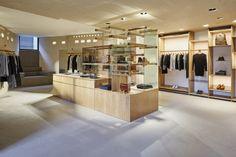 A.P.C. store by Laurent Deroo, Sydney – Australia » Retail Design Blog