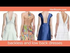 ▶ Bras For Strapless and Backless Dresses | HerRoom - YouTube