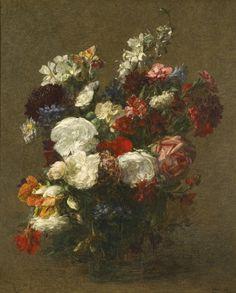 Fleurs Diverses, 1904 - Henri Fantin-Latour