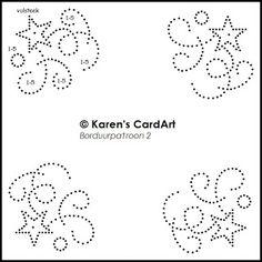 Karen's CardArt - borduurpatroon 2