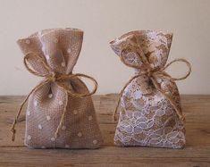 CUSTOM ORDER Rustic wedding 40 pc favor bags by myRusticDream
