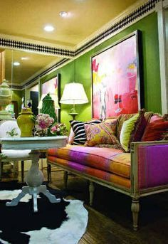 jeweled toned interiors | Eye For Design: Decorate Your Interiors With Jewel Tone Colors