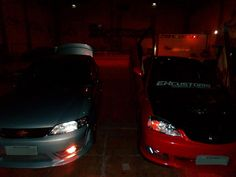 Honda e vectra na Ex Customs Tuning