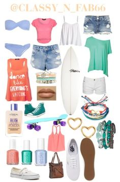 beach outfits for teens!