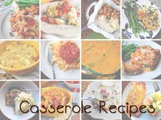 50+ Fall Casserole recipes from Iowa Girl Eats